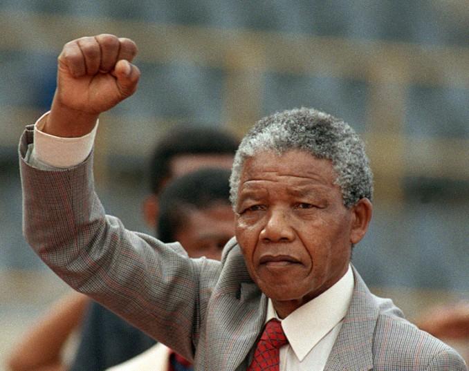 Nelson Mandela. Picture: AFP