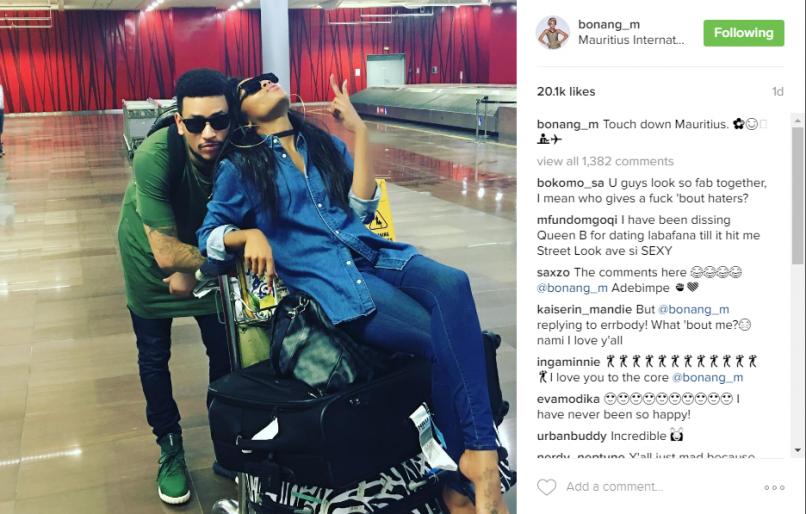 Picture: Bonang Matheba's Instagram
