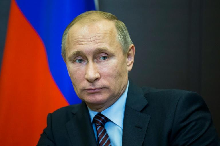 Pool/AFP/File / Pavel Golovkin<br />Russian President Vladimir Putin