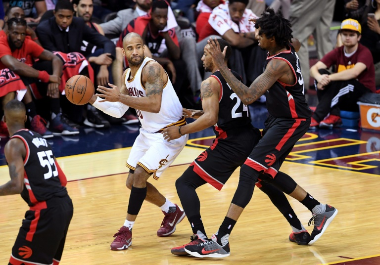 Cavs crush Raptors in Game 1 of NBA conference finals