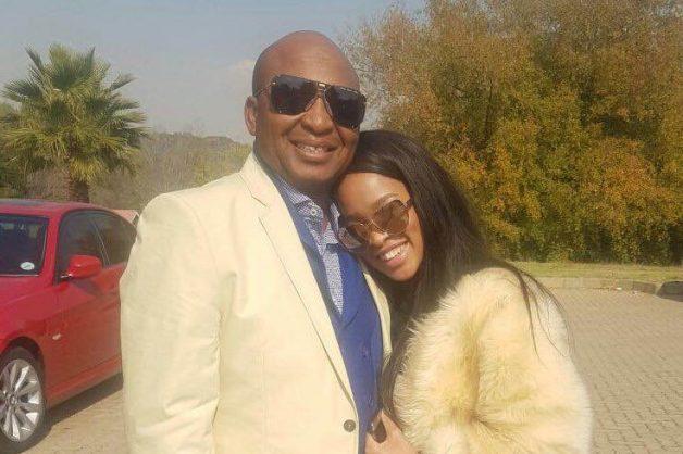 Kenny Kunene with his 'rib' Nkuli.