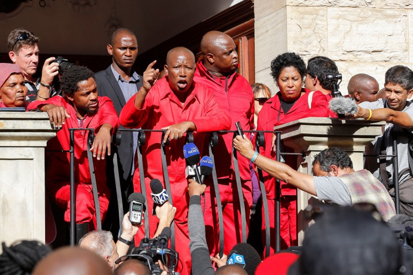 EFF 'must pay' Parliament damage costs