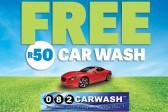 FREE CAR WASH WORTH R50!
