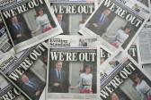 British press divided over 'earthquake' EU vote