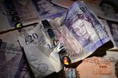 Pound sinks, most stocks extend losses on British EU exit