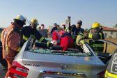 Woman critical, three injured in Roodepoort car crash