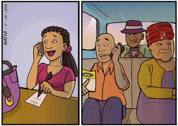 Illustrated by Nathi Ngubane