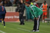 Stephen Keshi (head coach) of Nigeria during the 2015 Africa Cup of Nations Qualifiers between South Africa and Nigeria at Cape Town Stadium, Cape Town on 10 September 2014 ©Chris Ricco/BackpagePix