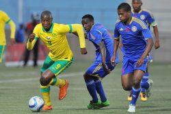 Swazi coach blames red card for Bafana drubbing