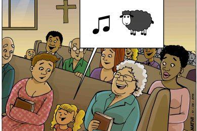 That Friday Feeling: Baaaack to church!
