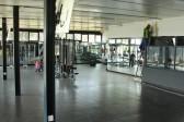 Gym facilities.