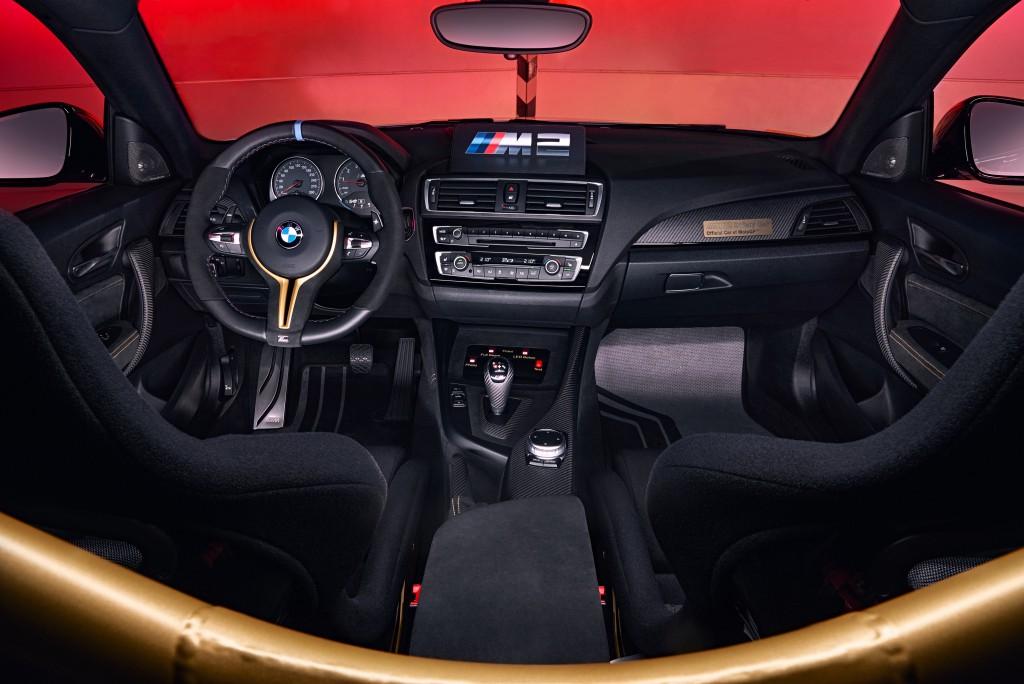 The official pace-car of MotoGP, BMW's M2 Coupe | Image: MotoGP