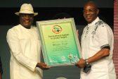 Stephen Keshi of Nigeria won the Coach of the Year during the 2013 GLO CAF Award at  Eko Hotel on 9th Jan 2013@Kabiru Abubakar/Backpagepix