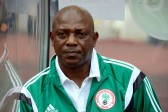 AFP/File / Pius Utomi Ekpei<br />Former Nigeria football coach Stephen Keshi (pictured in 2014) has died aged 54 of a suspected heart attack