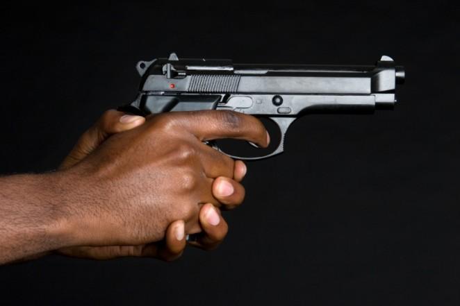 Man shot and injured at his home.