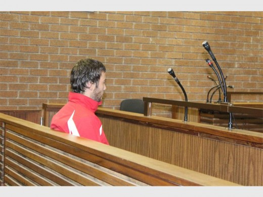 Marthinus Pelser at his first court appearance. Photo: Riaan van Zyl