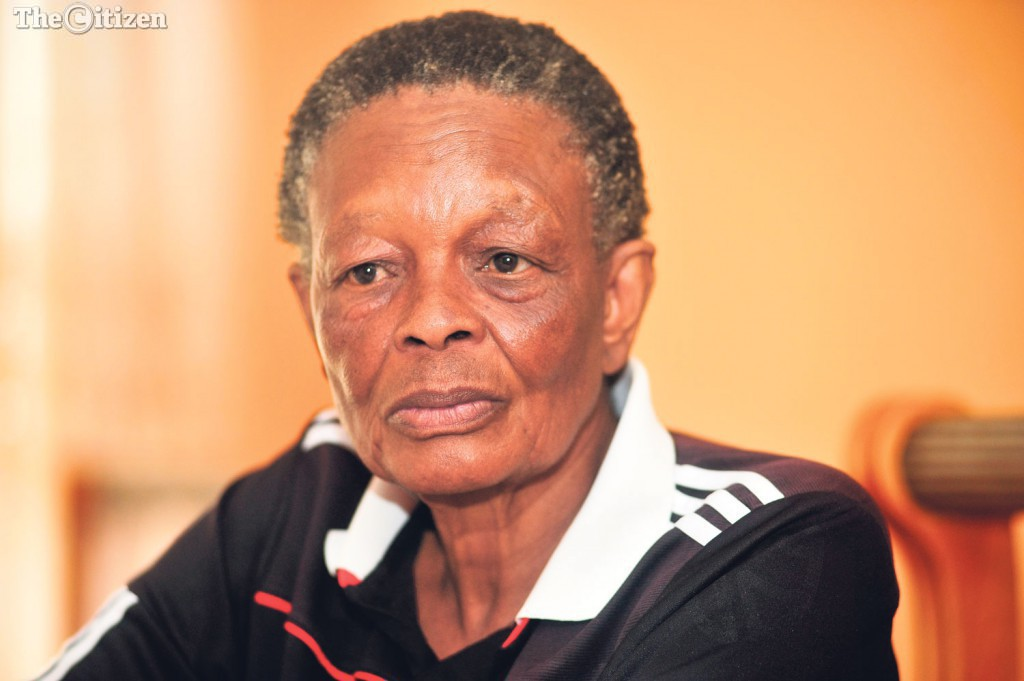 Midvaal resident, Thabi Lydia Mahakoe speaks to The Citizen at her home in Johannesburg, 29 April 2016, about her relationship with Nelson Mandela. Picture: Nigel Sibanda