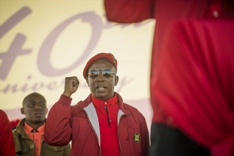 We won't slaughter whites … for now – Malema