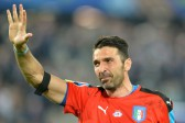 No regrets for teary Buffon as Italy exit Euros