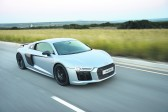 The Audi stable's R8 rock star