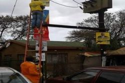 Eskom: Stop postering our power poles