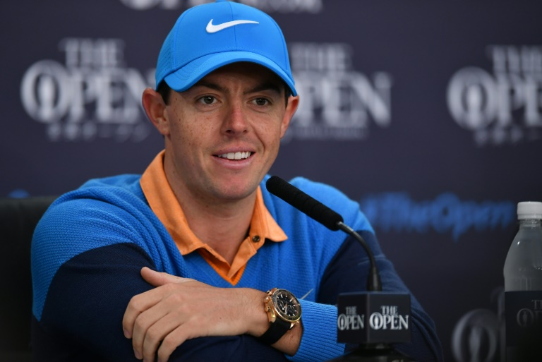 AFP / Ben Stansall<br />Northern Ireland's Rory McIlroy speaks to members of the media at a press conference ahead of the 2016 British Open Golf Championship at Royal Troon in Scotland