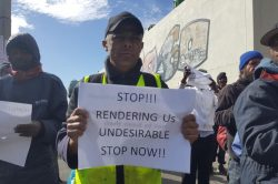Stop treating us like 'undesirables', say Cape Town's homeless