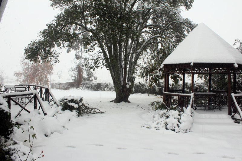 FILE PICTURE: A snow scene in Oliviershoek near Bergville in the Drakensberg Mountains of KwaZulu-Natal. Picture: Ladysmith Herald