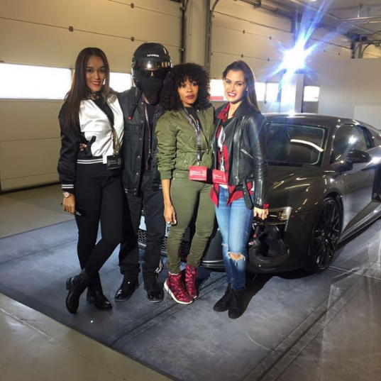 Audi SA hosted an exclusive Driving Experience Event at Kyalami Grand Prix Circuit on July 7, 2016. Picture: Instagram