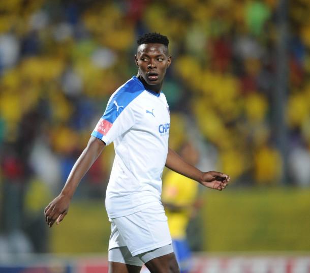 Zitha Macheke of Chippa United. (Pic Sydney Mahlangu/ BackpagePix)