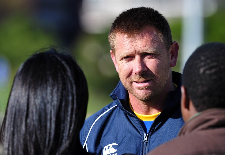 Eric Tinkler, coach of Cape Town City FC during the Cape Town City FC pre-season training session at Green Point, Cape Town on July 6, 2016 ©Chris Ricco/BackpagePix