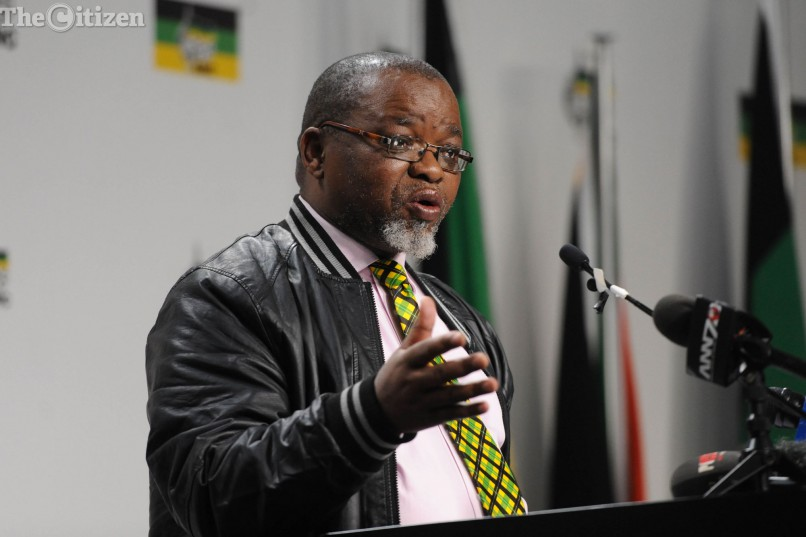 FILE PICTURE: Gwede Mantashe. Picture: Alaister Russell