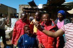 Warm welcome for Malema at Winnie Mandela settlement