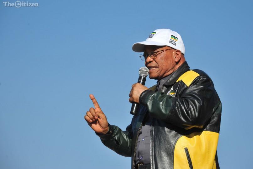 President Jacob Zuma. Picture: Michel Bega