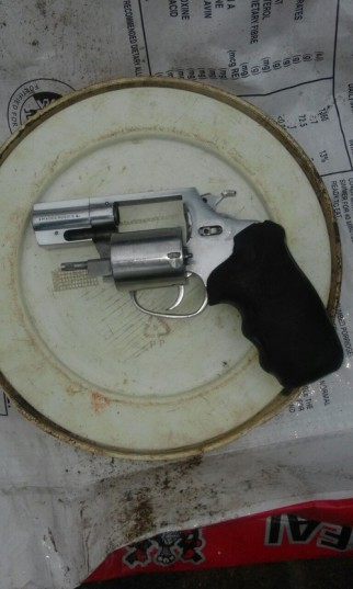 Man found in possession of a murder weapon.