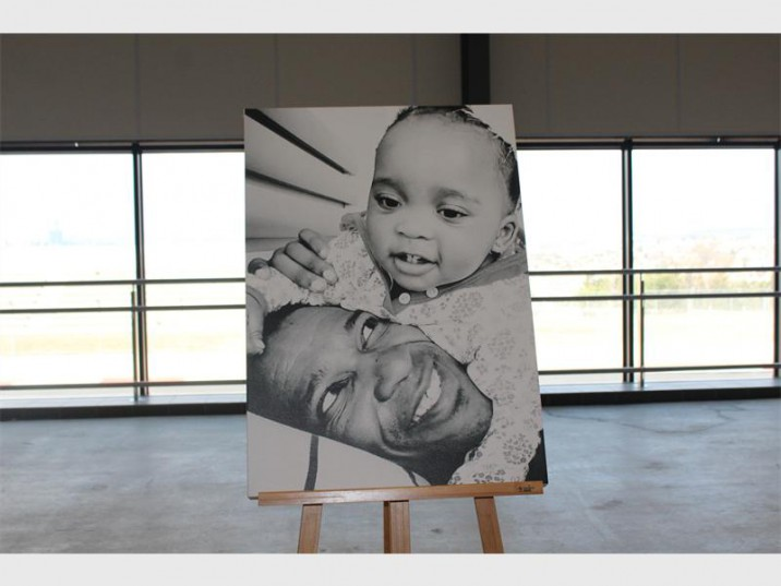 Gugu Zulu pictured here with his daughter, Lelethu. Photo: Fourways Review.