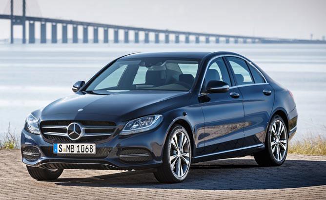 Benz C 350 e. Picture: www.hybridcars.com