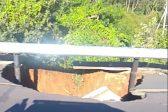 KZN motorists asked to beware sinkhole on N2