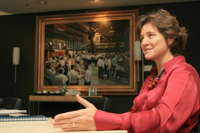 Nicky Newton King, CEO of the JSE. Picture: Moneyweb