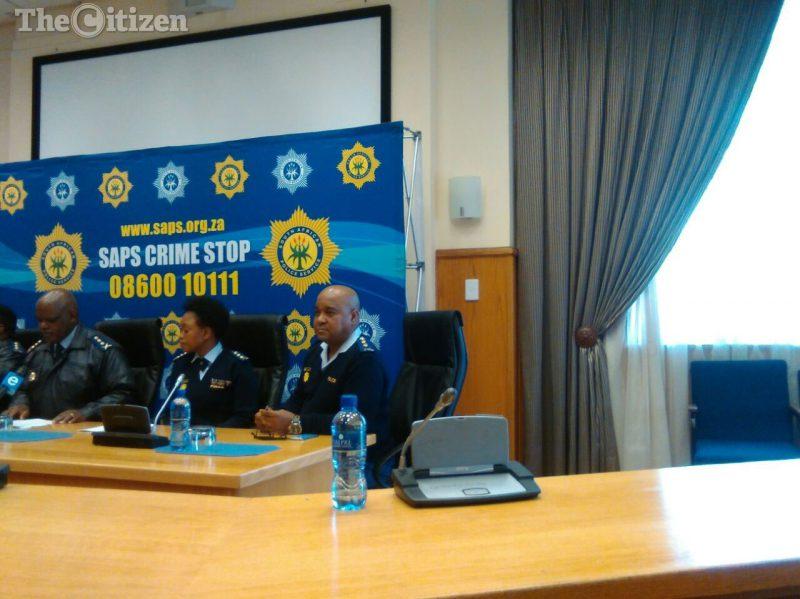 Acting national police commissioner Lieutenant General Kgomotso Phahlane. Picture: Steven Tau