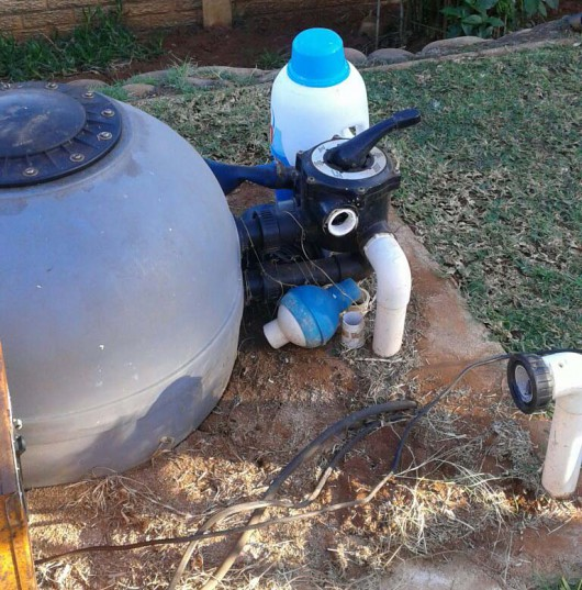 This pool pump was stolen from a home on Cyprus Drive.