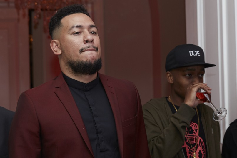 AKA's One Time Music Video launch. Picture: Supplied