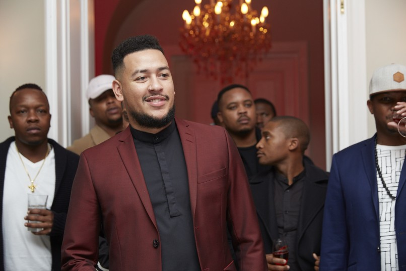 AKA's 'One Time' music video launch. Picture: Supplied