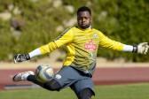 WATCH: Khune scores from corner kick in training