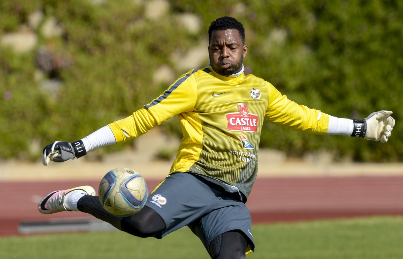 Itumeleng Khune. Photo: Sydney Seshibedi/Gallo Images