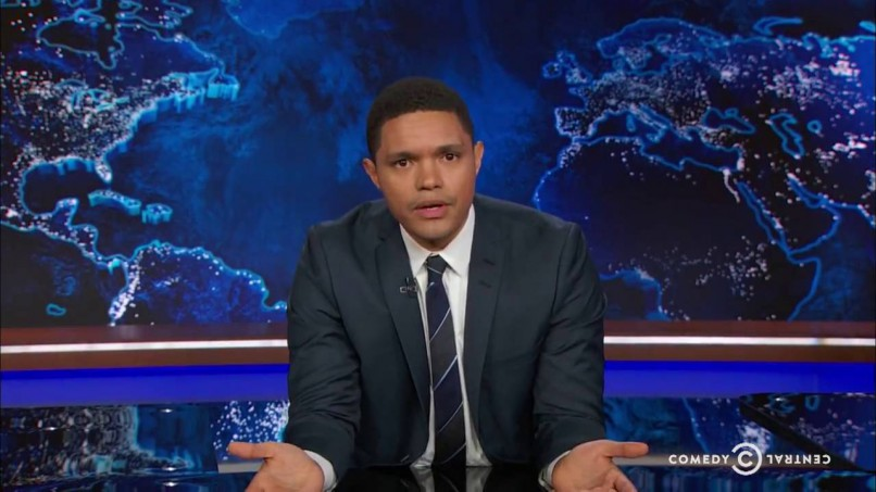 WATCH: Papa Pope threatens Trevor Noah before his show