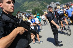 Tour de France stage goes ahead amid heightened security