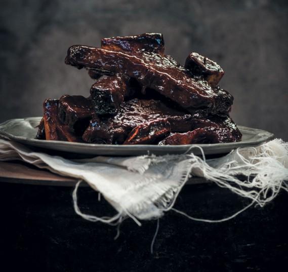 Beef short ribs.