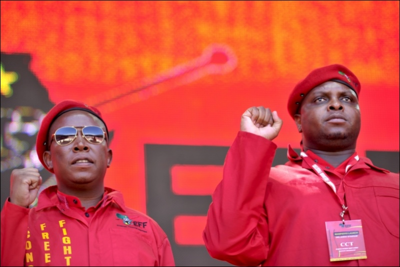 EFF says 'ANC trying to bribe us'