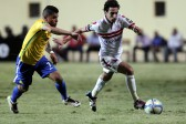 Zamalek's player Ayman Hefny (R) in action against Sundowns player Keagan Dolly (L) during the African Champions League (CAF) group stage soccer match between Zamalek's and Sundowns at Petro Sport stadium in Cairo, Egypt, 17 July 2016  EPA/KHALED ELFIQI